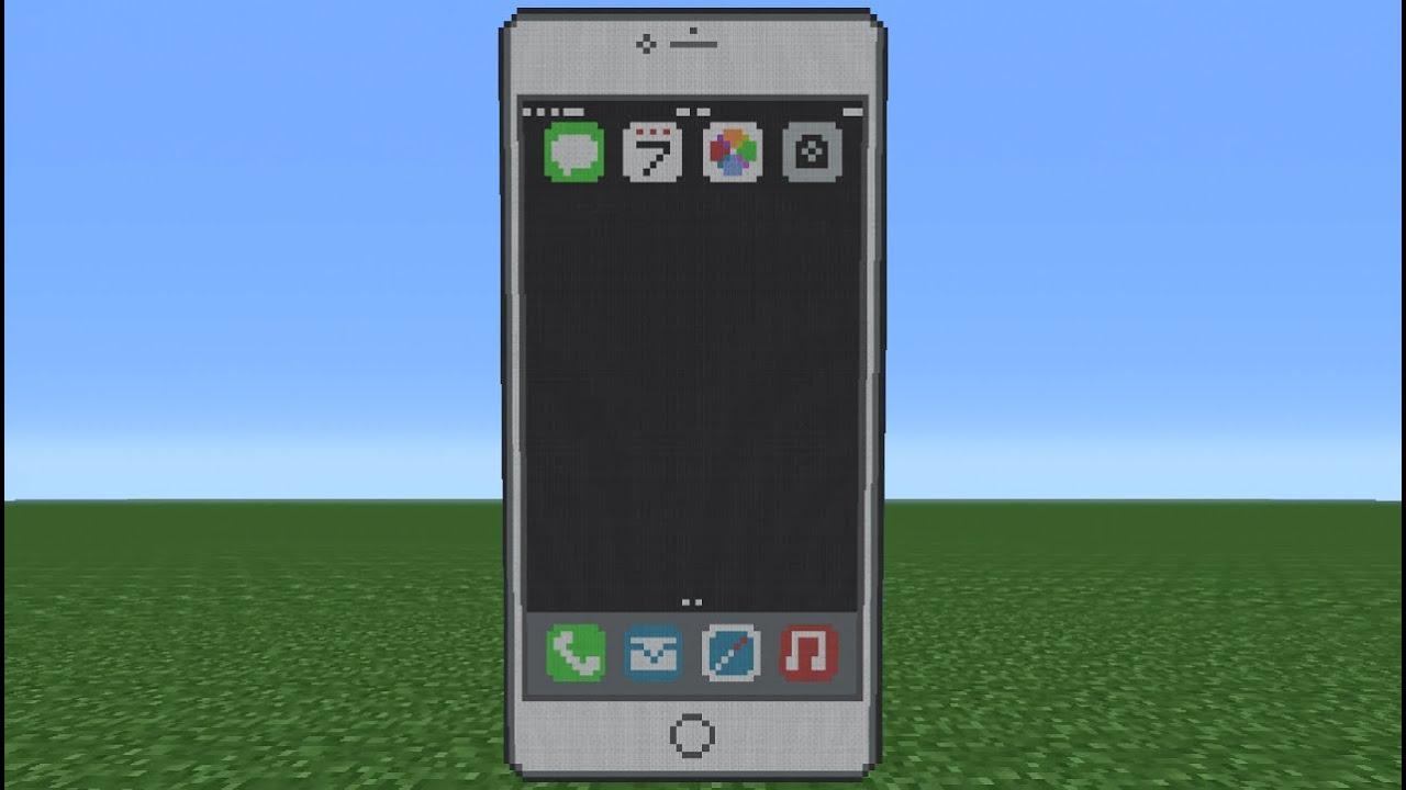 iPhone in Minecraft
